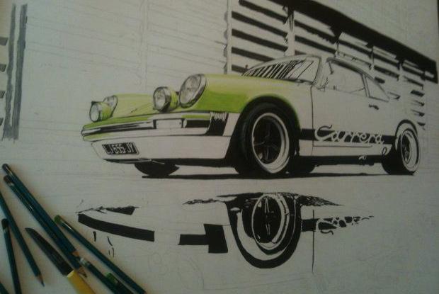 Porsche 911 in progress