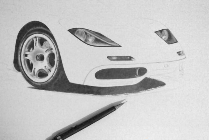McLaren F1 in progress