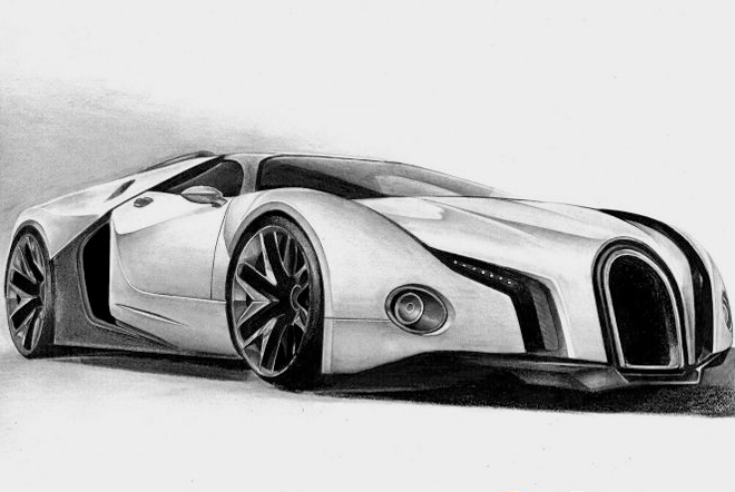 tutorials for drawing cars